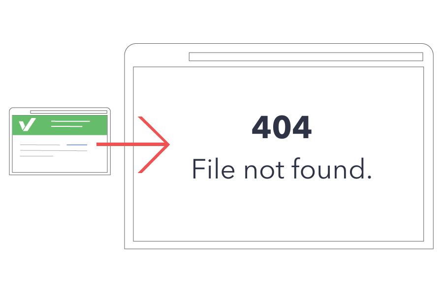 Corregir enlaces rotos para mejorar el posicionamiento seo on page de nuestras webs.