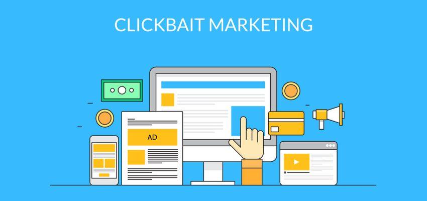 Mala práxis en uso masivo de clickbaiting con contenido no relacionado y poco relevante.